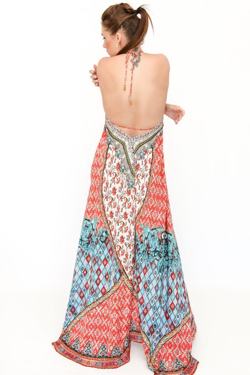 Hi Low Halter Dress